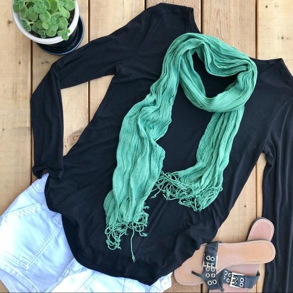 Accessories - Mint green scarf
